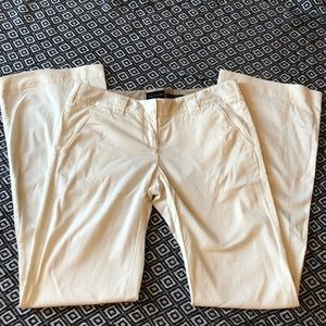The Limited off white trouser chinos size 4